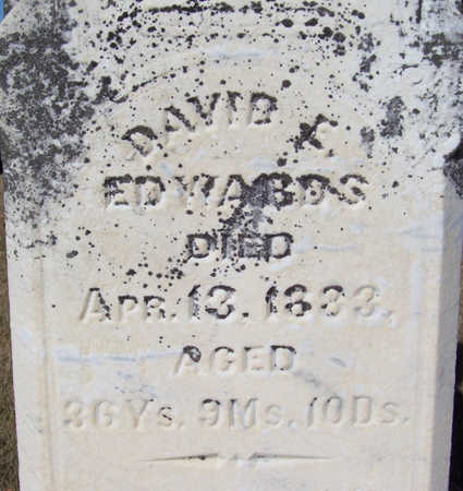 EDWARDS, DAVID E. (CLOSE-UP) - Shelby County, Iowa | DAVID E. (CLOSE-UP) EDWARDS