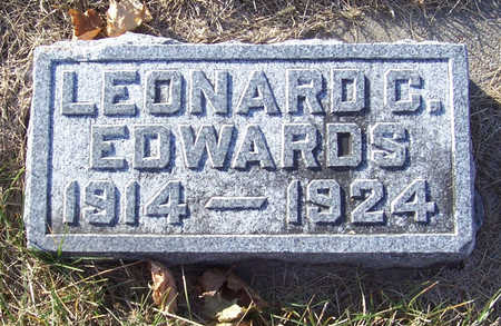 EDWARDS, LEONARD C. - Shelby County, Iowa | LEONARD C. EDWARDS