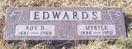 EDWARDS, MYRTLE - Shelby County, Iowa | MYRTLE EDWARDS