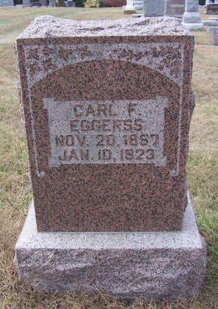 EGGERSS, CARL F. - Shelby County, Iowa | CARL F. EGGERSS
