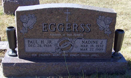 EGGERSS, PAUL H., JR. - Shelby County, Iowa | PAUL H., JR. EGGERSS