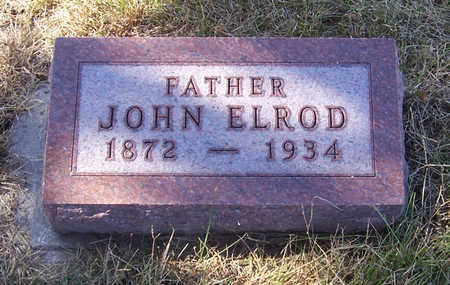 ELROD, JOHN (FATHER) - Shelby County, Iowa | JOHN (FATHER) ELROD