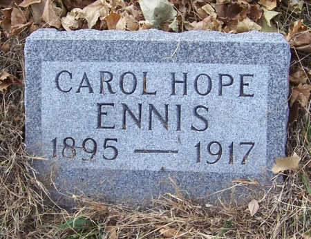 ENNIS, CAROL HOPE - Shelby County, Iowa | CAROL HOPE ENNIS