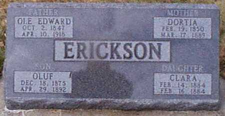 ERICKSEN, CLARA - Shelby County, Iowa | CLARA ERICKSEN