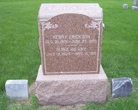 ERICKSON, OLINA - Shelby County, Iowa | OLINA ERICKSON