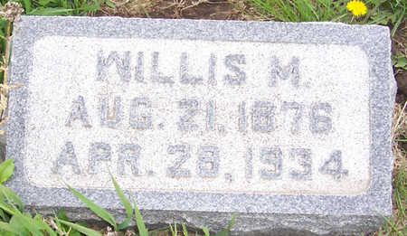 ERICKSON, WILLIS M. - Shelby County, Iowa | WILLIS M. ERICKSON