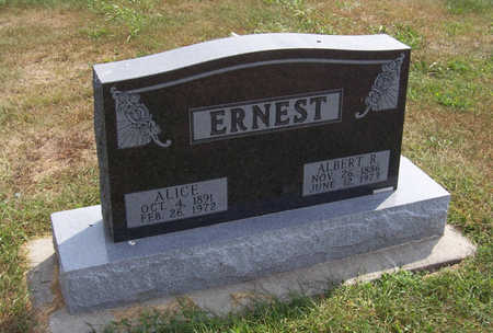 ERNEST, ALICE - Shelby County, Iowa | ALICE ERNEST
