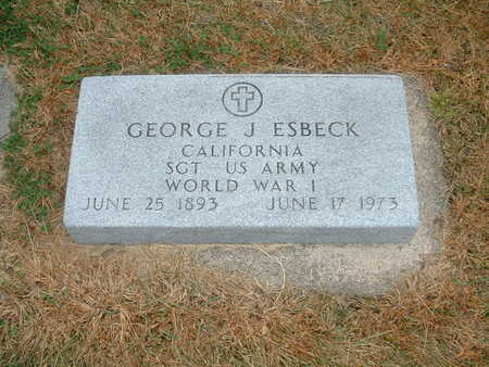ESBECK, GEORGE J. (MILITARY) - Shelby County, Iowa | GEORGE J. (MILITARY) ESBECK