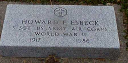 ESBECK, HOWARD E. (MILITARY) - Shelby County, Iowa | HOWARD E. (MILITARY) ESBECK