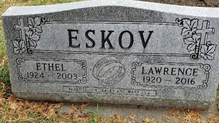 ESKOV, ETHEL - Shelby County, Iowa | ETHEL ESKOV