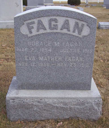 FAGAN, HORACE M. - Shelby County, Iowa | HORACE M. FAGAN