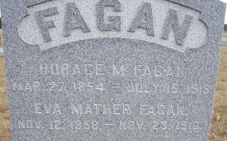 FAGAN, HORACE M. (CLOSE-UP) - Shelby County, Iowa | HORACE M. (CLOSE-UP) FAGAN