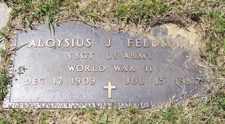 FELDMAN, ALOYSIUS J. (MILITARY) - Shelby County, Iowa | ALOYSIUS J. (MILITARY) FELDMAN