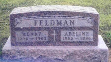 GRAEVE FELDMAN, ADELINE - Shelby County, Iowa | ADELINE GRAEVE FELDMAN