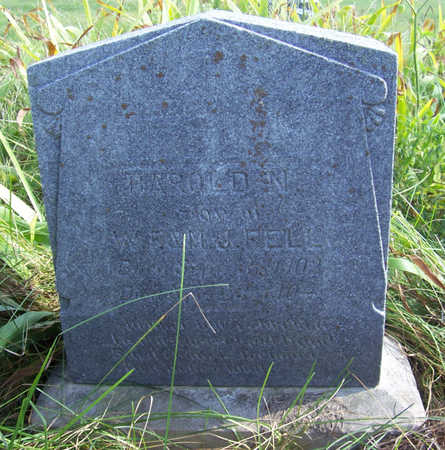 FELL, HAROLD N. - Shelby County, Iowa | HAROLD N. FELL