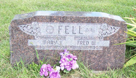 FELL, MARY J. - Shelby County, Iowa | MARY J. FELL