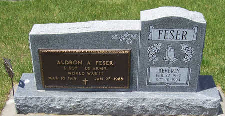 FESER, ALDRON A. - Shelby County, Iowa | ALDRON A. FESER