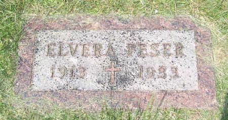 FESER, ELVERA - Shelby County, Iowa | ELVERA FESER