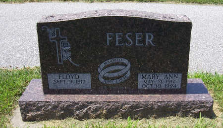 FESER, MARY ANN - Shelby County, Iowa | MARY ANN FESER