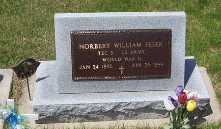 FESER, NORBERT WILLIAM - Shelby County, Iowa | NORBERT WILLIAM FESER