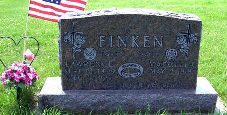 FINKEN, MARCELLA - Shelby County, Iowa | MARCELLA FINKEN