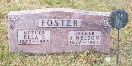 FOSTER, J. NELSON (FATHER) - Shelby County, Iowa | J. NELSON (FATHER) FOSTER