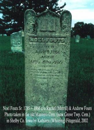FOUTS, NOEL (SR.) - Shelby County, Iowa | NOEL (SR.) FOUTS
