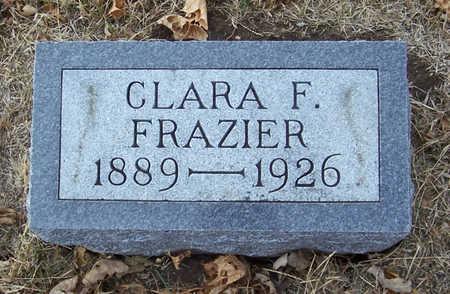 FRAZIER, CLARA F. - Shelby County, Iowa | CLARA F. FRAZIER
