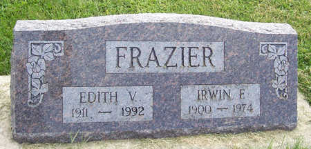 FRAZIER, EDITH V. - Shelby County, Iowa | EDITH V. FRAZIER