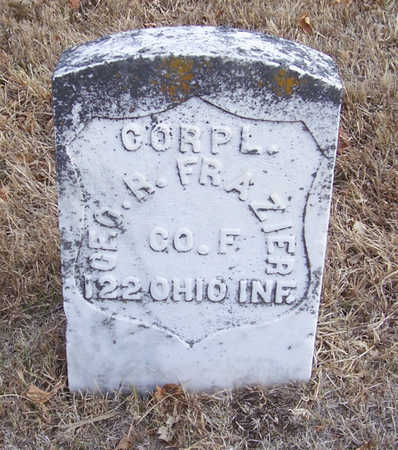 FRAZIER, GEO. R. (MILITARY) - Shelby County, Iowa | GEO. R. (MILITARY) FRAZIER