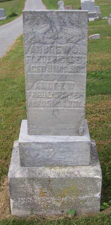 FREDERICKSEN, ANDREW - Shelby County, Iowa | ANDREW FREDERICKSEN