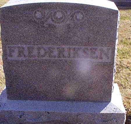 FREDERICKSEN, HANS - Shelby County, Iowa | HANS FREDERICKSEN
