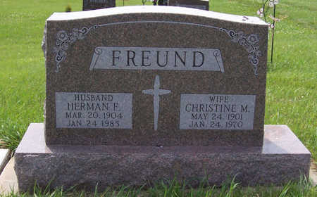 FREUND, HERMAN F. - Shelby County, Iowa | HERMAN F. FREUND