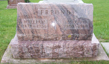 FREUND, WILLIAM - Shelby County, Iowa | WILLIAM FREUND