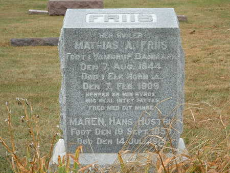 FRIIS, MAREN - Shelby County, Iowa | MAREN FRIIS