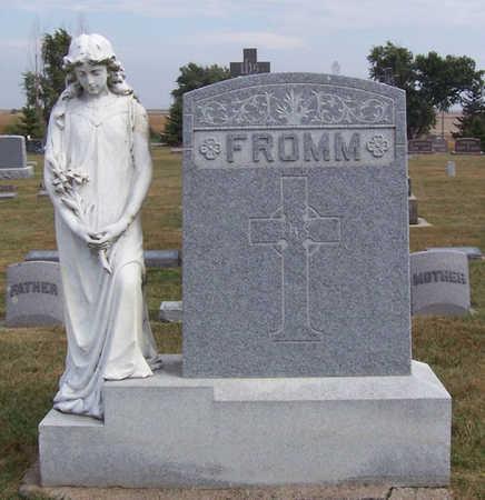 FROMM, JOSEPH & KATHERINE (LOT) - Shelby County, Iowa   JOSEPH & KATHERINE (LOT) FROMM