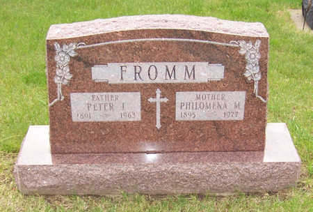 FROMM, PHILOMENA M. - Shelby County, Iowa | PHILOMENA M. FROMM