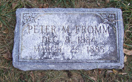 FROMM, PETER M. - Shelby County, Iowa | PETER M. FROMM
