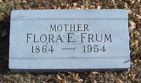 FRUM, FLORA E. (MOTHER) - Shelby County, Iowa | FLORA E. (MOTHER) FRUM