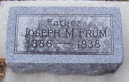 FRUM, JOSEPH M. (FATHER) - Shelby County, Iowa | JOSEPH M. (FATHER) FRUM