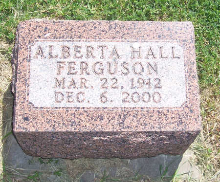 HALL FERGUSON, ALBERTA - Shelby County, Iowa | ALBERTA HALL FERGUSON