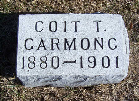 GARMONG, COIT T. - Shelby County, Iowa | COIT T. GARMONG