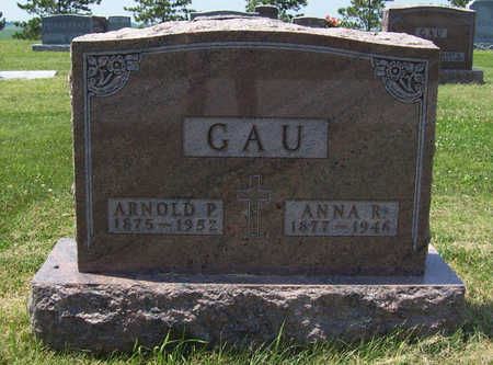 GAU, ANNA R. - Shelby County, Iowa | ANNA R. GAU