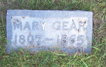 GEAR, MARY - Shelby County, Iowa | MARY GEAR