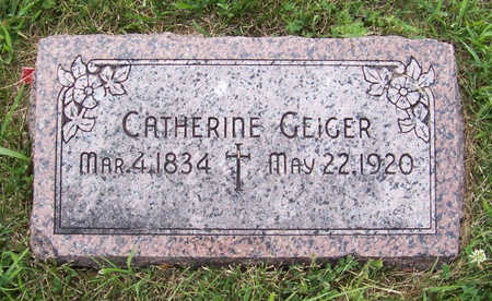 GEIGER, CATHERINE - Shelby County, Iowa | CATHERINE GEIGER