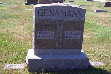 GESSMANN, CHRISTINE D. (MOTHER) - Shelby County, Iowa | CHRISTINE D. (MOTHER) GESSMANN