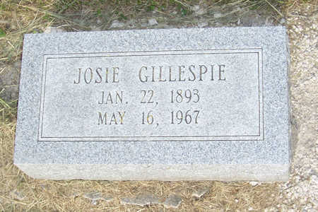 GILLESPIE, JOSIE - Shelby County, Iowa | JOSIE GILLESPIE
