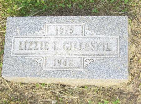 GILLESPIE, LIZZIE L. - Shelby County, Iowa | LIZZIE L. GILLESPIE