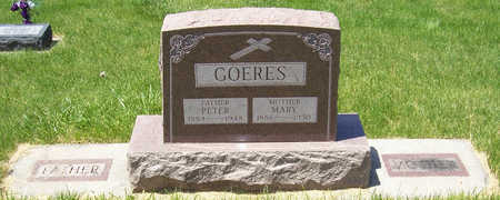 GOERES, MARY - Shelby County, Iowa | MARY GOERES