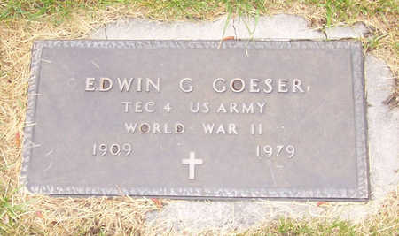 GOESER, EDWIN G. (MILITARY) - Shelby County, Iowa | EDWIN G. (MILITARY) GOESER